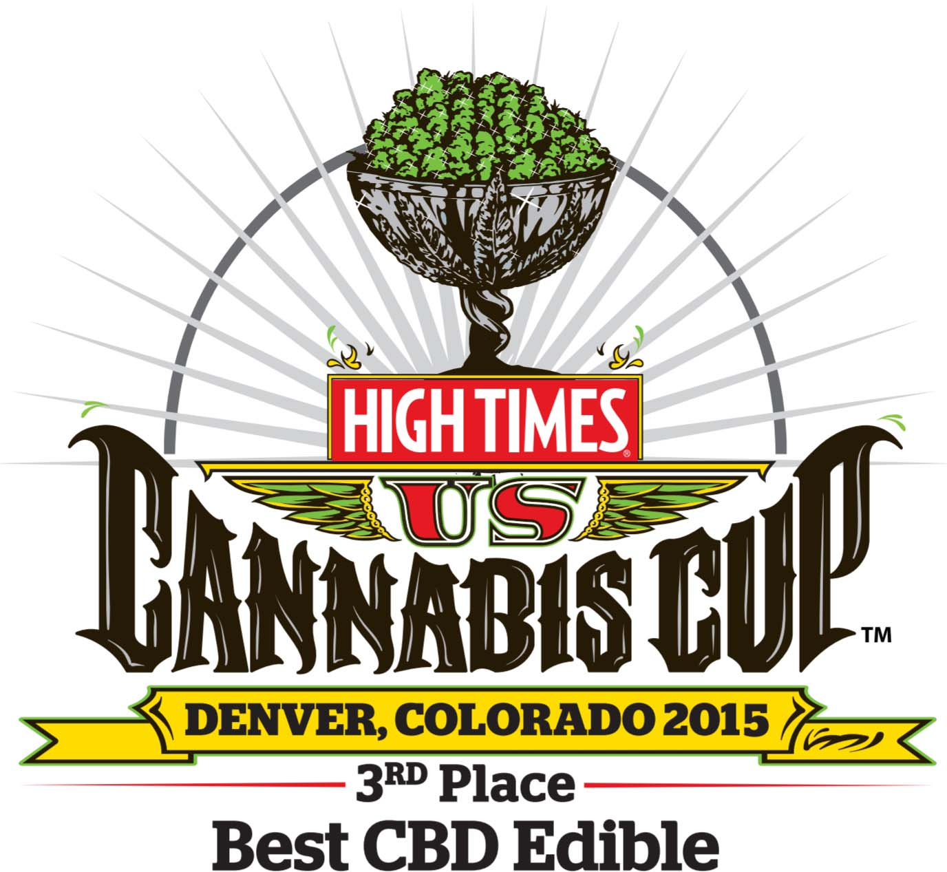 3rd place winner of the 2015 High Times Cannabis Cup Colorado
