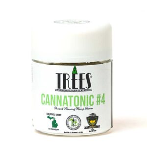 Cannatonic #4 High CBD Hemp Flower | 4g Jar